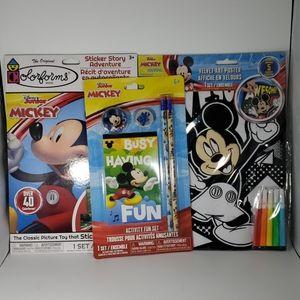 Mickey Coloring Play Set